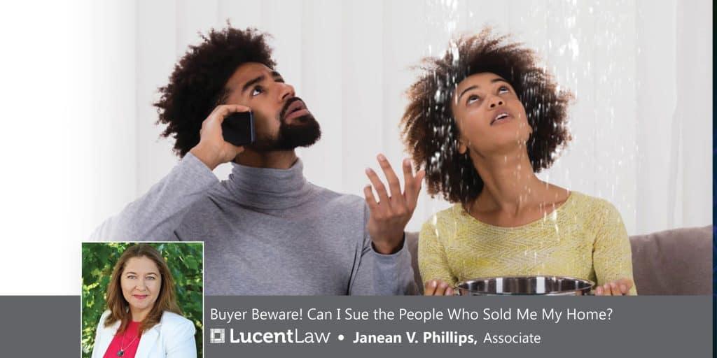 Seller Disclosures—Leaky Roof