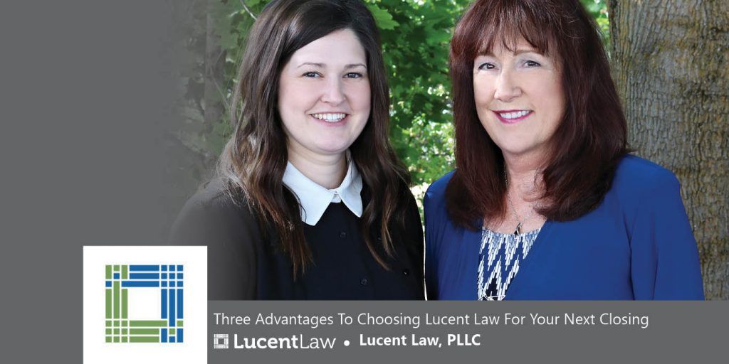 Real Estate Closers Kelsey Rychalski and Vicky Elliott of Lucent Law